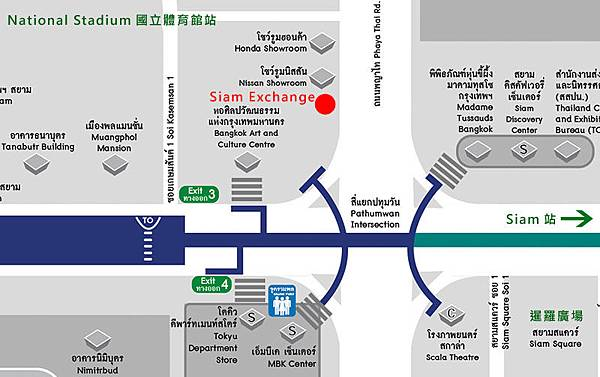 Siam Exchange@National Stadium MAP.jpg