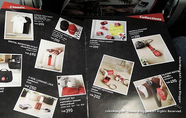 泰國亞洲航空AirAsia機上商品1.jpg