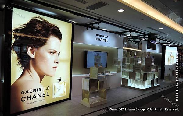 桃園機場Gabrielle Chanel香奈兒嘉柏麗香水廣告