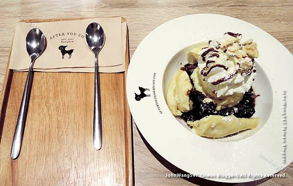 Chocolate mud brownie with Durian ice cream.jpg
