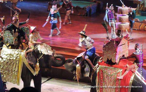 Thai Elephant show