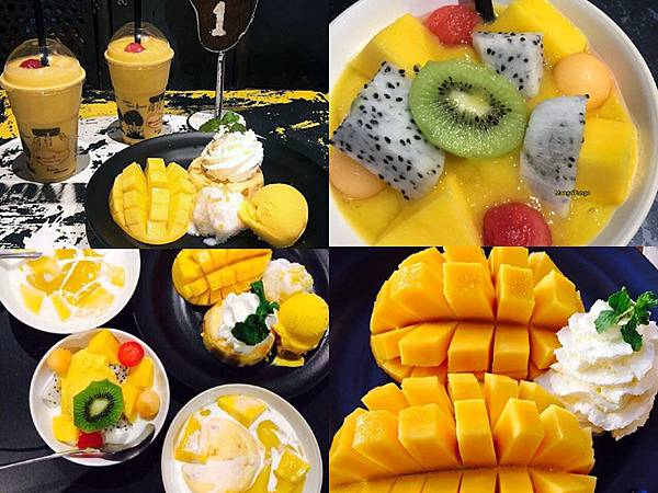 Mango Tango dessert