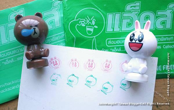 泰國7-11 LINE FRIENDs贈品