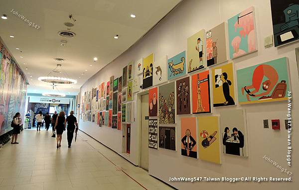 Jean Jullien The people Exhibition Groove CentralWorld3
