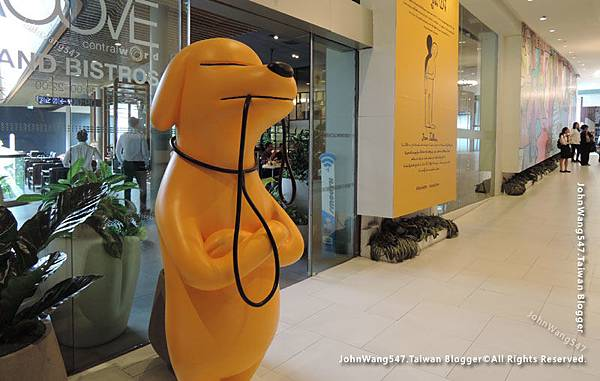 Jean Jullien The people Exhibition Groove CentralWorld2