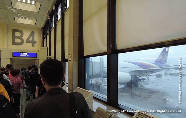 Thai Airways搭乘泰航經驗談桃園機場3.jpg