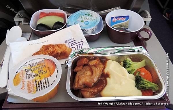 Thai Airways搭乘泰航經驗談機上餐點.jpg