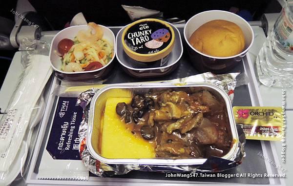 Thai Airways搭乘泰航經驗談機上餐點2.jpg