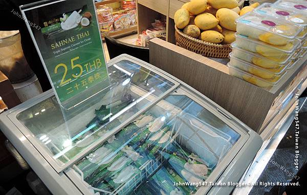 Sahnae Thai Coconut ice cream bkk Airaport