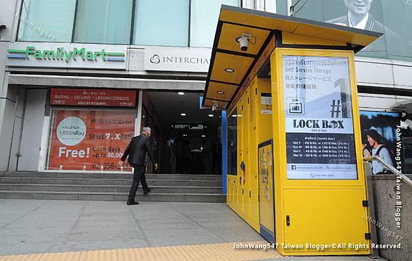 Lock Box MRT Sukhumvit2