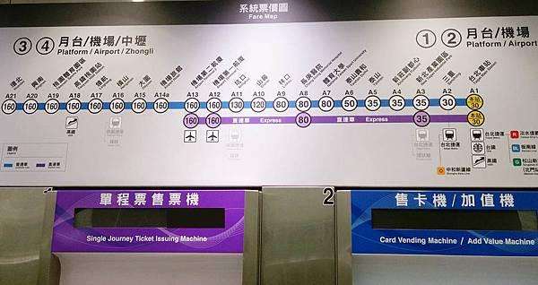 Taoyuan Airport MRT Route