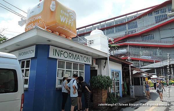 Chatuchak weekend market information free wifi