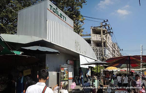 Chatuchak market Toilet1