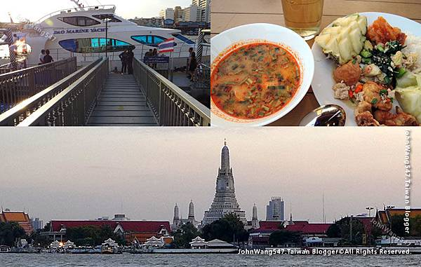 Chao Phraya River Cruise Private Dinner1