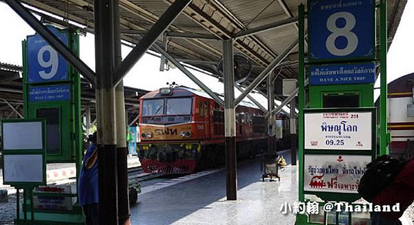 泰國搭火車去大城