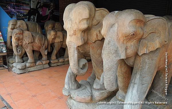 泰國木雕大象