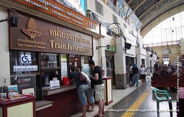 曼谷華藍蓬火車站詢問處