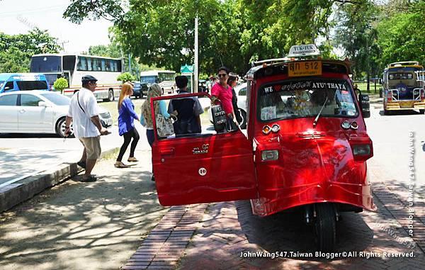 泰國大城嘟嘟車1