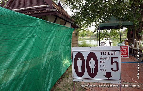 Wat Mahathat大城5泰銖廁所.jpg