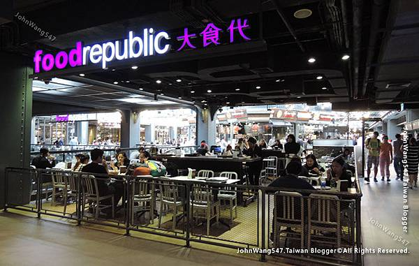 曼谷親子用餐美食街
