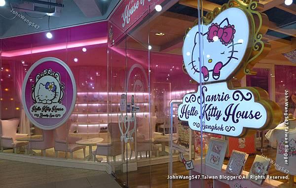 曼谷親子活動HELLO KITTY cafe