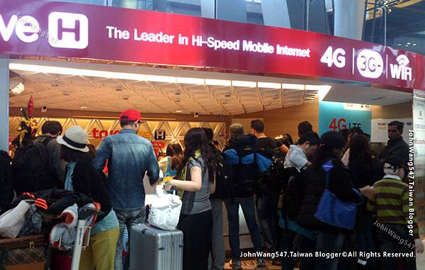泰國TrueMove H電信BKK機場
