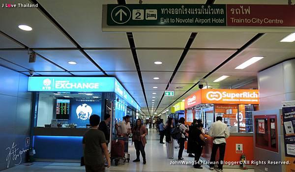曼谷BKK國際機場換泰銖