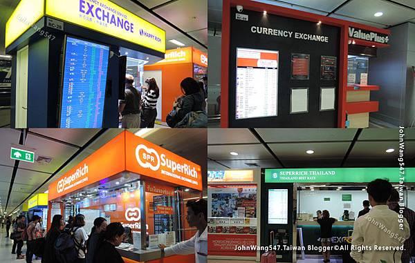 曼谷蘇凡納布機場私人匯兌所