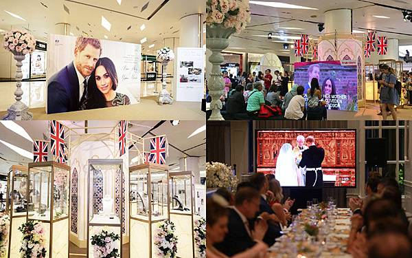 Siam Paragon Celebrates the British Royal Wedding