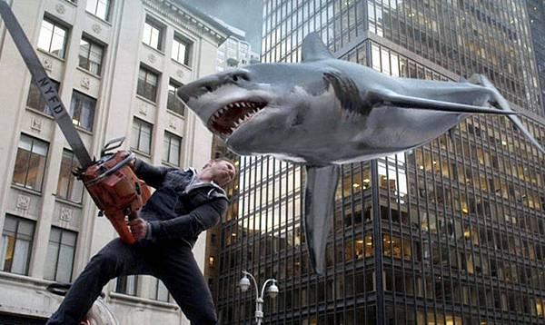 Sharknado Crazy Shark movie