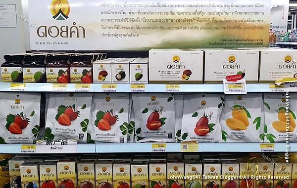 Doi Kham泰國皇家計畫水果乾果醬果汁