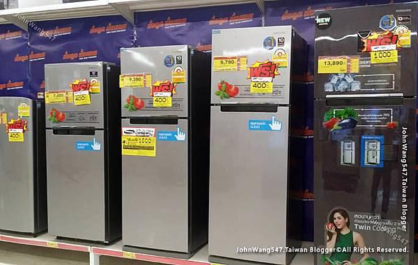 泰國買冰箱便宜