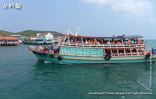 Koh Larn Na Baan Pier ferry boat