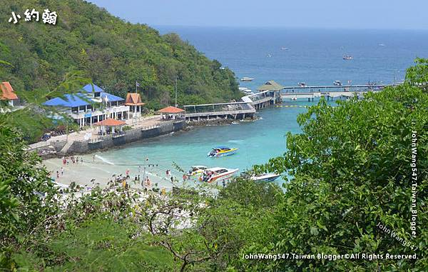Koh Larn Tawaen Beach view point2.jpg