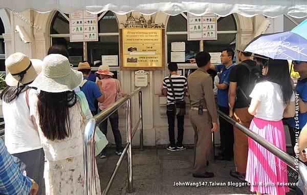泰國觀光客門票價