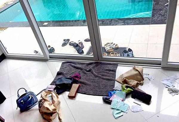 空姐團遊泰國芭達雅Villa遭迷昏洗劫
