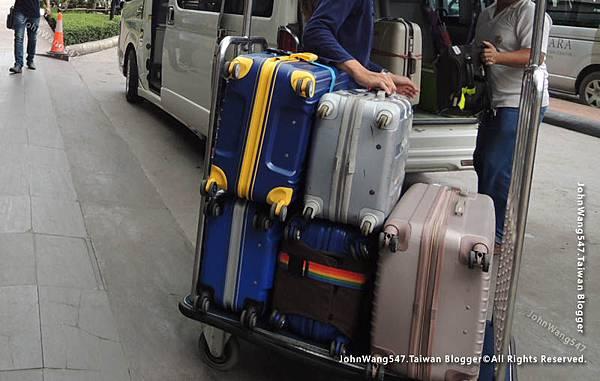 泰國行李被偷示意圖