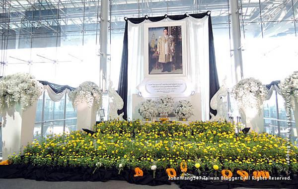 泰皇蒲美蓬(泰王拉瑪九世bkk機場紀念堂