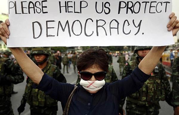 泰國軍方政變接管政府
