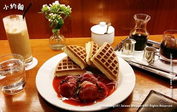 米朗琪咖啡館Melange Cafe草莓鬆餅