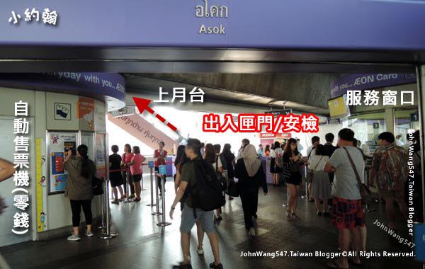 曼谷BTS捷運站說明