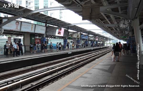 BTS Bangkok曼谷捷運月台.jpg