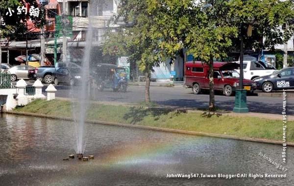 清邁護城河彩虹