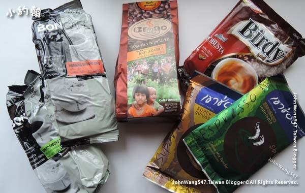 泰國必買咖啡豆咖啡粉