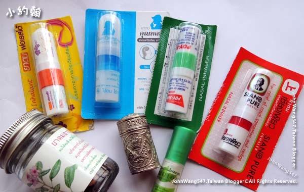 泰國必買薄荷涼鼻吸劑棒