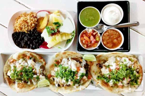 Salsa Kitchen Cheesy Chicken and Mushroom Soft tacos.jpg