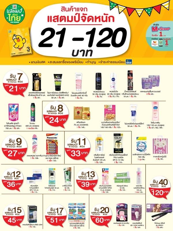 泰國7-11超商集點活動