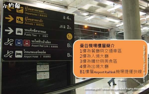 Suvarnabhumi airport曼谷BKK機場樓層.jpg