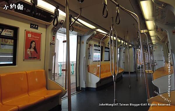 曼谷bts捷運空車