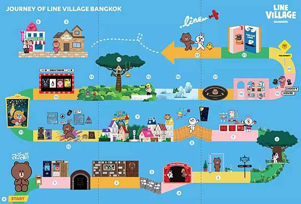 LINE Village Bangkok MAP.jpg